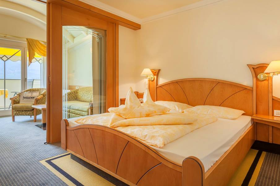 Juniorsuite im Funggashof in Naturns